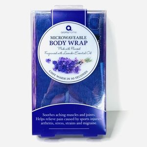 Aroma Home Body Wrap Lavender Microwave Hot Cold